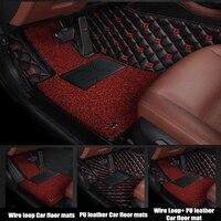 CARFUNNY Car floor mats fit LHD hand drive and RHD hand drive All model for Mercedes Benz GLC 200 260 300 220d 250d 350e AMG