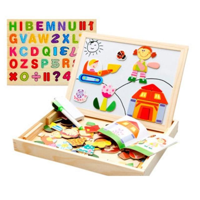Madera Tangram Puzzle Juegos De Mesa Educativos Para Ninos Diy Kit