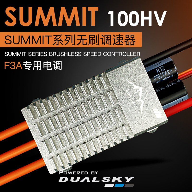 DualSky SUMMIT 100HV 100A Brushless ESC For F3A RC airplane fixed-wing RC Model image