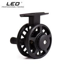 LEO Fly Fishing Reel Saltwater 50mm/60mm 1:1 Gear Ratio Left Hand Rafting Ice Fishing Reels Vessel For Sea Lake Fishing Gear