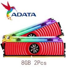 ADATA módulo de Memoria RAM XPG D80 para PC, 16GB, 2x8GB, Memoria DDR4 de doble canal, PC4, 3200Mhz, 3000MHZ, DIMM, 3000, 3600 MHZ