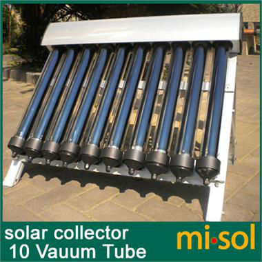 10 Tubos de Vácuo, Solar Coletor de Aquecedor Solar de Água Quente, Os Tubos de vácuo, nova
