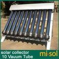 10 Tubos de vacío, Colector Solar del Calentador de Agua Solar, Tubos de vacío, nueva