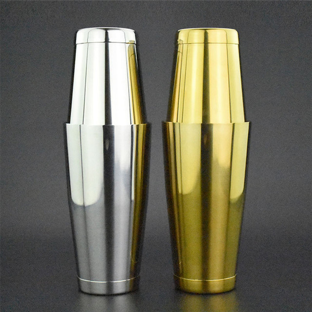 Nice TTLIFE High Quality Deluxe Boston Bar Cocktail Shaker Cocktail Shaker Essential  Barware Bar Tool Drink Mixer