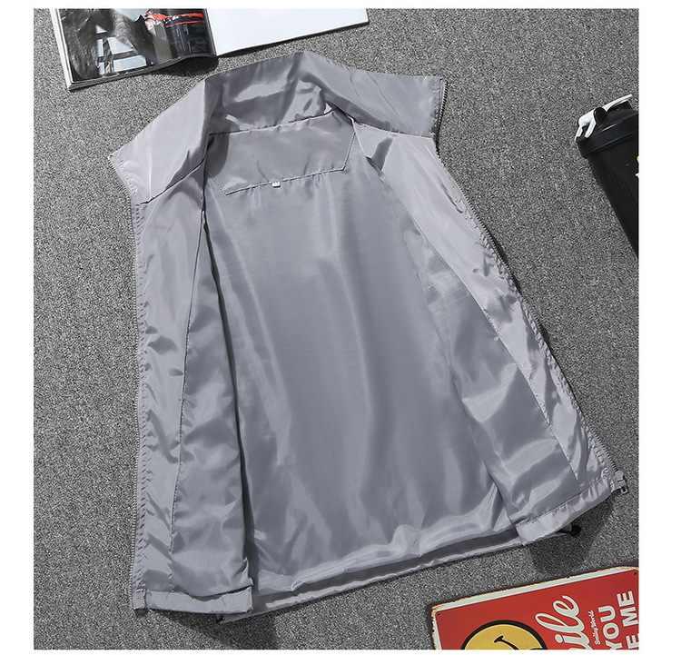 2019 nouveau automne haute qualité veste Euramerican vent veste mode à la mode Zip veste Euramerican taille S-7XL