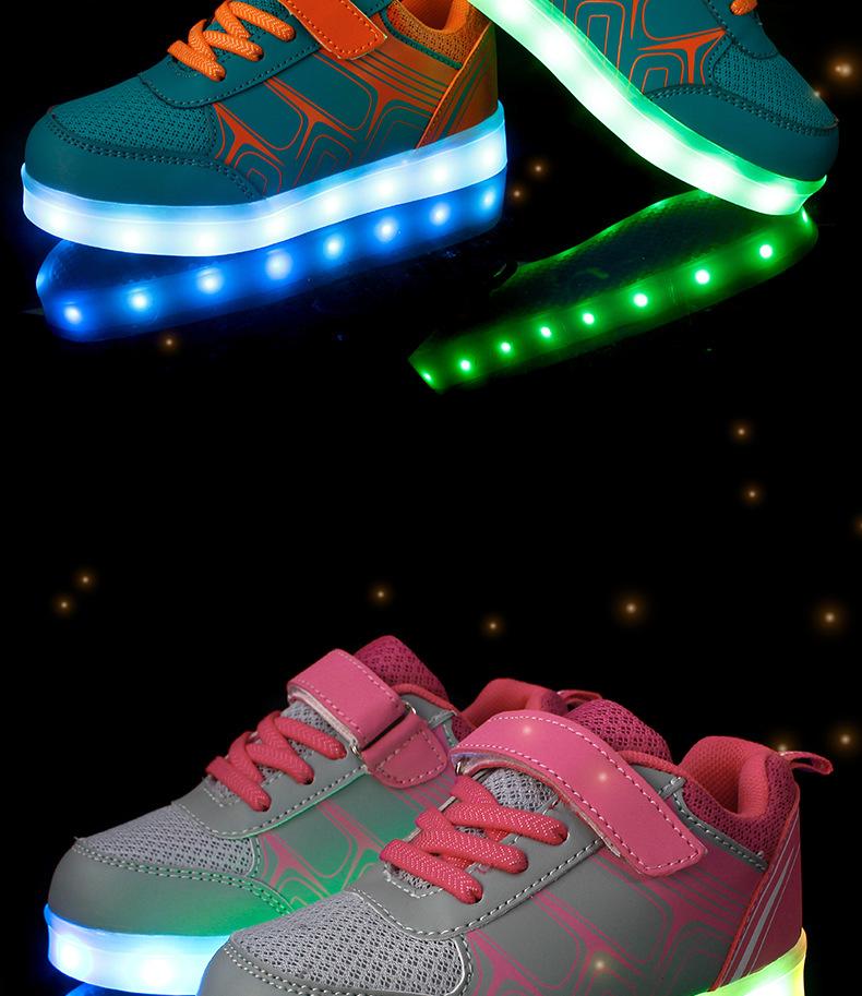 Street Led Sneakers Kids 2