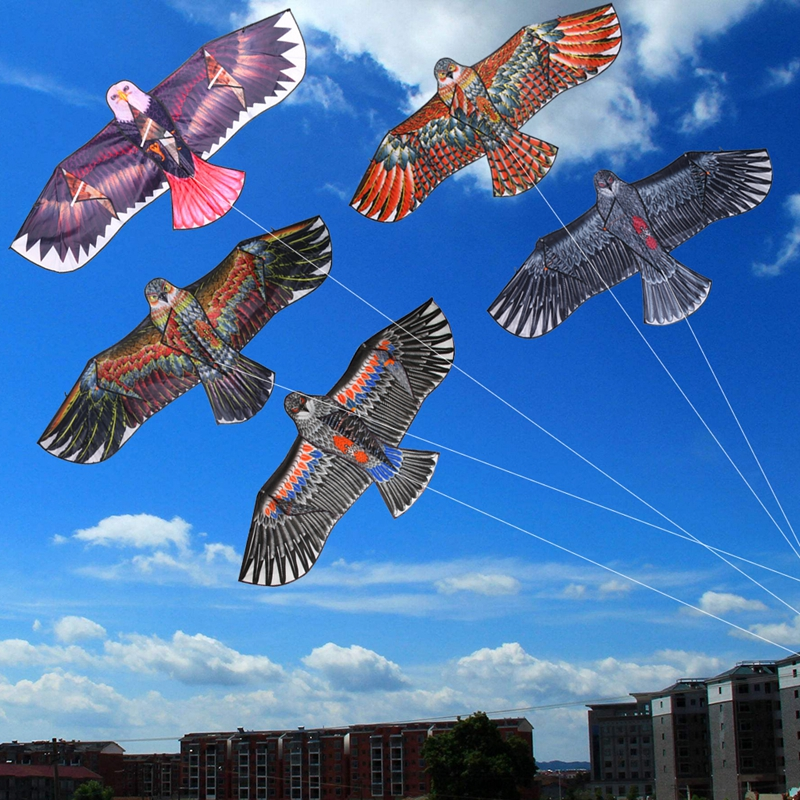 Free Shipping Outdoor Fun Sports 1.5m 1.7m Eagle Kite high quality flying higher Big Kites-P101
