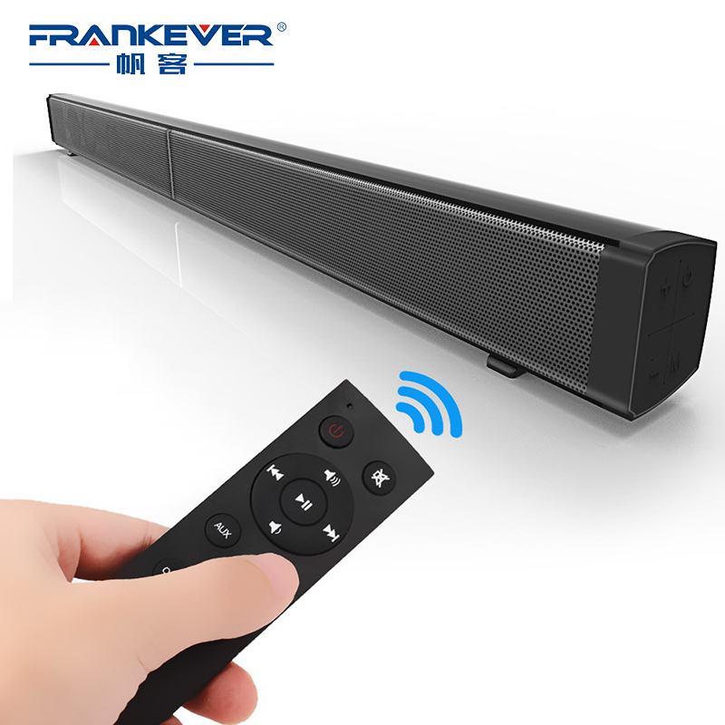 FrankEver Super Power 40W HIFI Wireless Bluetooth Speaker Stereo Soundbar Portable Speaker Subwoofer for Computer TV With Remote цена 2017