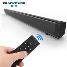 FrankEver Super Power 40W HIFI Wireless Bluetooth Speaker Stereo Soundbar Portable Speaker Subwoofer for Computer TV With Remote