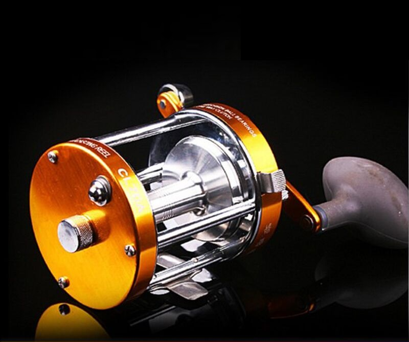 Albacore Stainless steel main body bait casting reels suitable for lure or ocean boat fishing