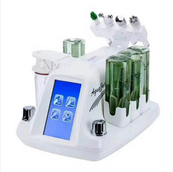 RF Bio Six Polar RF Spa Machine New Design 4 In 1 Multifunction Korean Model Hydar Facial Hydra