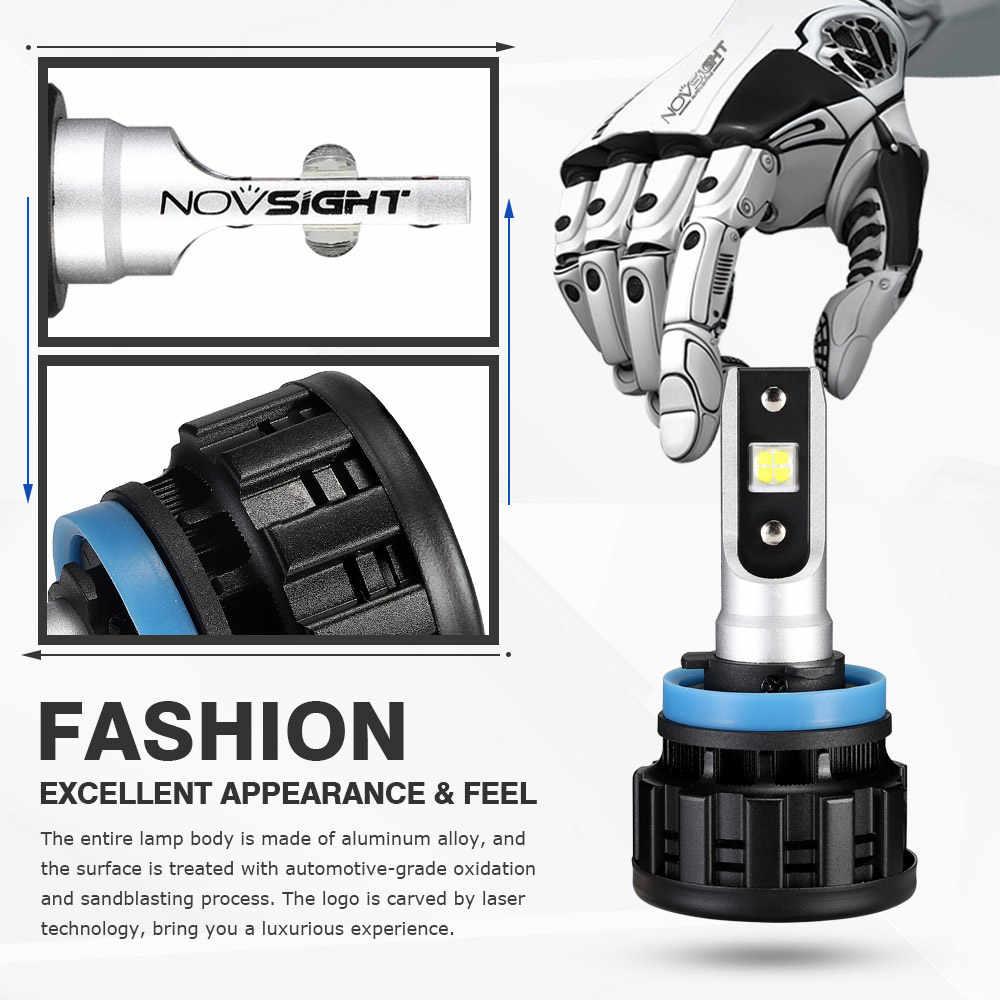 Novsight New Style LED Headlight For KIA Toyota Audi Mazda Ford Hyundai H1 H4 H7 H8 H11 9005(HB3) 9006(HB4) LED Headlight Bulbs