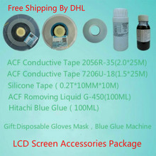 US $84.0 |Hitachi ACF Conductive Adhesive Removal Liquid G 430 450 Hot Pressing Silicone Leather PCB Side Panel LCD Screen Repair Kit-in Tape from Home Improvement on Aliexpress.com | Alibaba Group