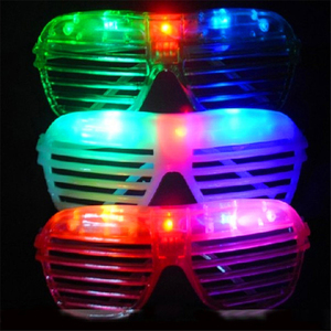 Fashion Trendy 10pcs LED Party Lighting Glasses Led Neon Glasses for Xmas Birthday Halloween Party Bar Costume Decor Supplies
