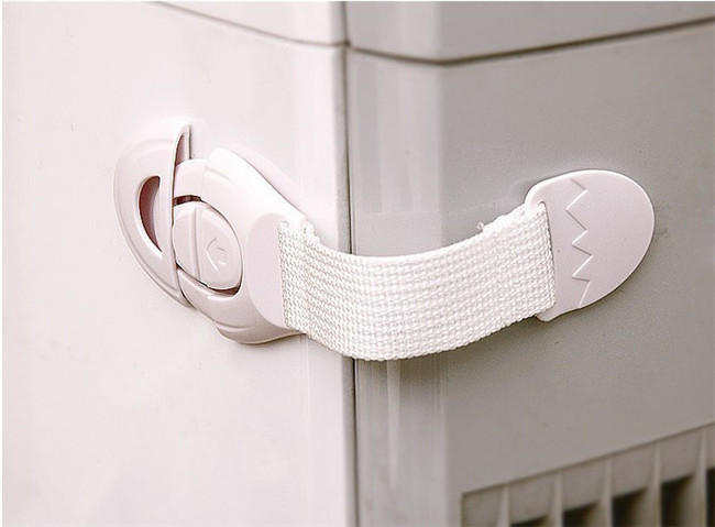10pcs Baby Safety Lock Multi-function Bendy Fridge Cabinet Door Locks Drawer Toilet Safety Plastic Lock