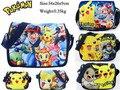 Pokemon Monster Pikachu Snack Shoulder School Bag Book Note Pick Boys Girls Gift