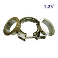 ZUCZUG 2.25 ''금속 clench 너트 빠른 릴리스 V 밴드 플랜
