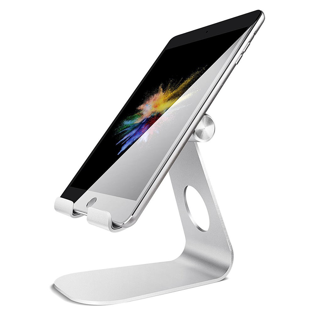 Tablet Stand Adjustable, Lamicall Tablet Stand : Desktop Stand Holder Dock Compatible With Tablet Such For IPad 2018 Pro 9.7 11