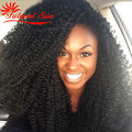 afro kinky curly hair kinky curly human hair weave 8a grade virgin unprocessed human hair no tangle shedding free