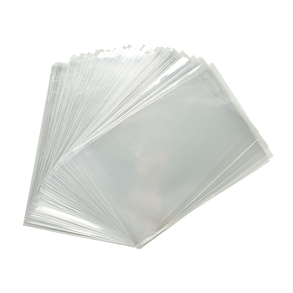 100pcs Clear Sweets Cookies Lollipops Cake Cellophane Bags