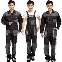 Plus Size Men Bib Working Overalls Male Work Wear Uniforms Fashion Tooling Overalls Worker Repairman Strap