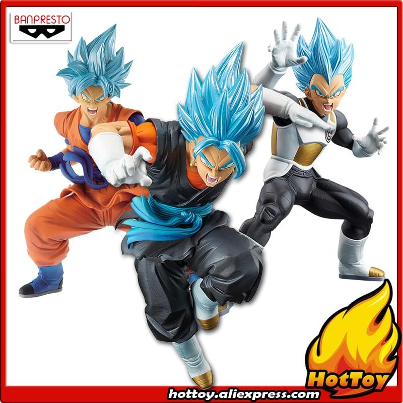 100 Original Banpresto Chouzetsu Gikou Collection Figure Super Saiyan God SS Goku Vegeta Vegetto from Dragon