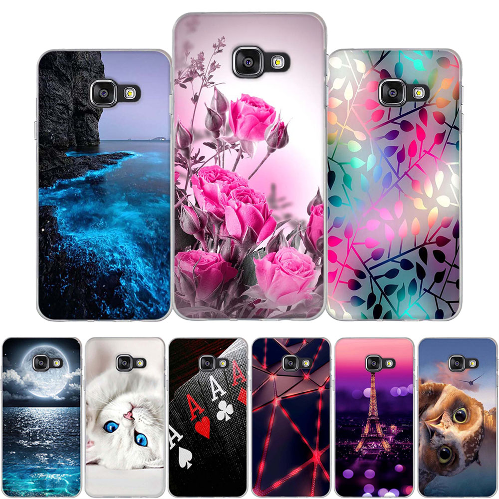 For Samsung Galaxy A3 A5 2016 Case A3 A5 2015 Telefonvesker 3D-deksel For Samsung A3 A5 2015 2016 Bag Silikon Funda Coque