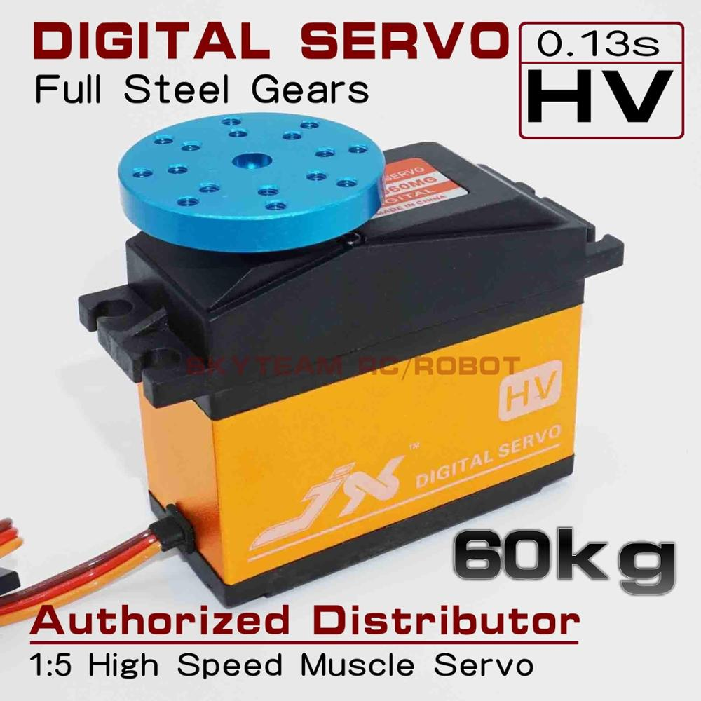 JX Servo PDI HV2060MG 60KG High Torque 180 Digital Servo For Robot Arm 1 5 RC