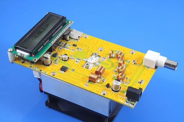 DC 12 В Fm-передатчик Доска регулируемая 30 Вт Мощность Цифровой СВЕТОДИОДНЫЙ Радиостанция PLL Стерео FM/Промышленной частоты том регулируемый