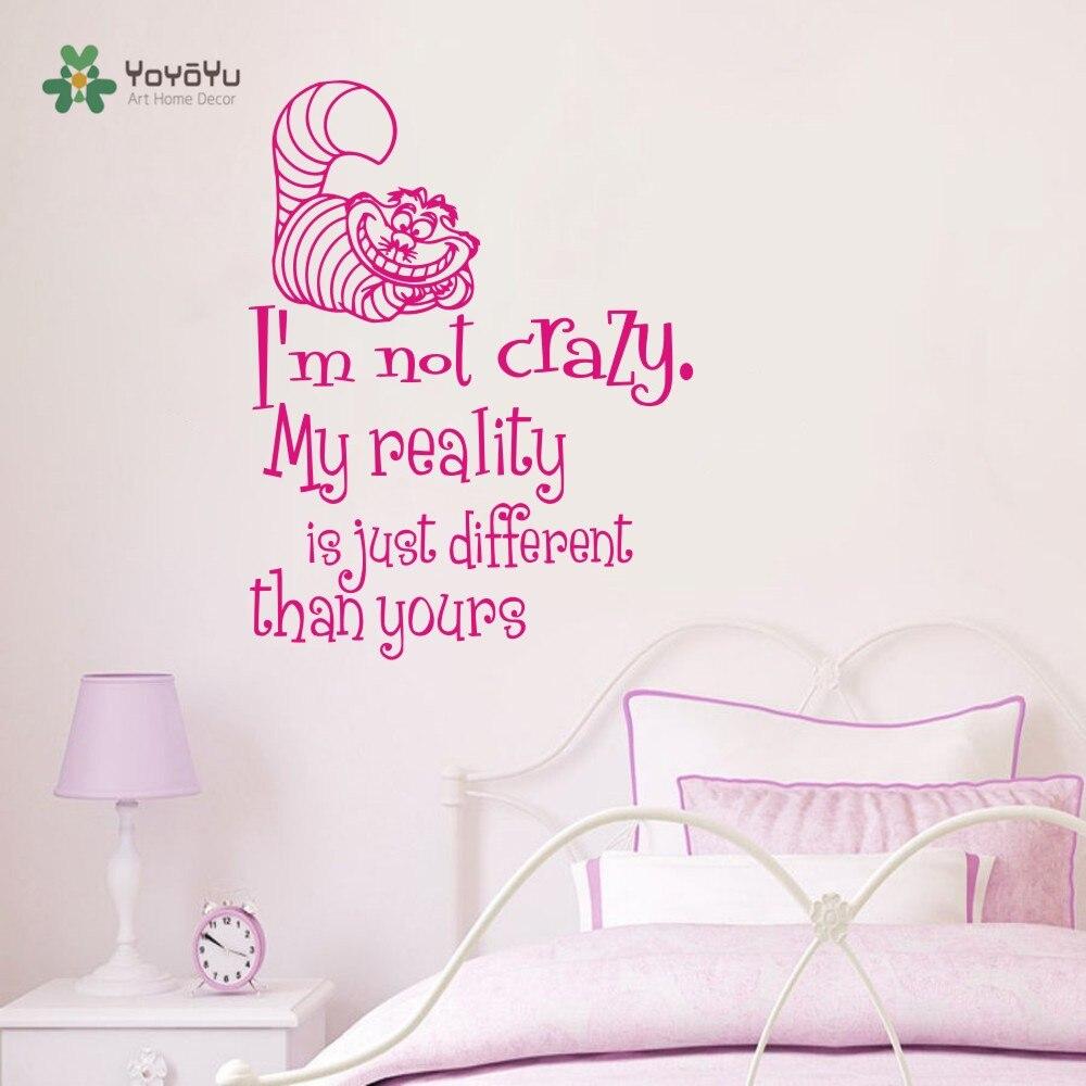 Qualität Wandbild Alice Im Wunderland Cheshire Katze Mit