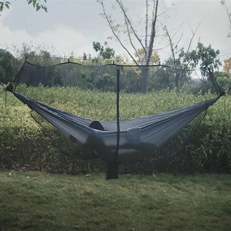 Detachable Hammock Mosquito Net Portable Outdoor Survival Nylon Encryption Mesh 1-2 Person Camping Light Weight Cibinlik Hamak