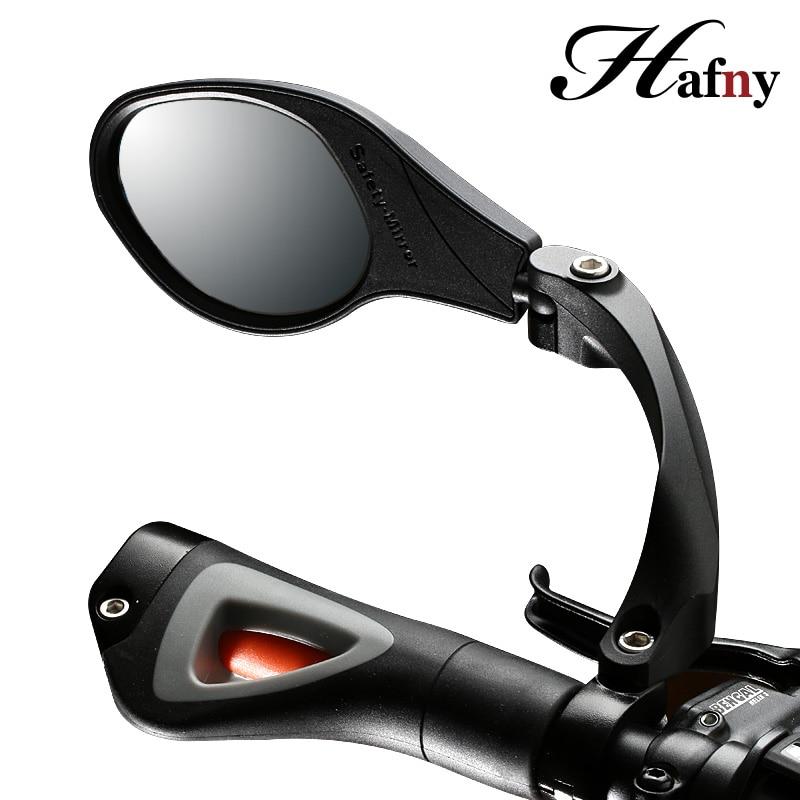 2 Espejo retrovisor giratorio para bicicleta de montaña bicicleta manillar negro