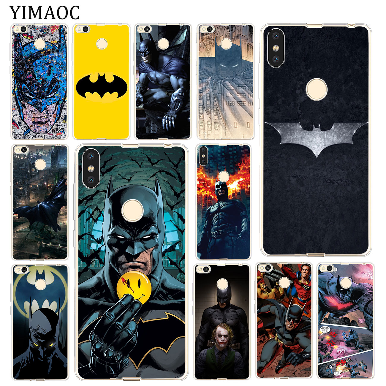 Results Of Top Xiaomi Mi A1 Case Batman In Nadola Softcase Redmi S2 Yimaoc The Dark Knight Dc Soft For A2 Lite 8 Se 6 6x 5x Mix 2s 4a Note 4 4x 5 Pro Plus 5a