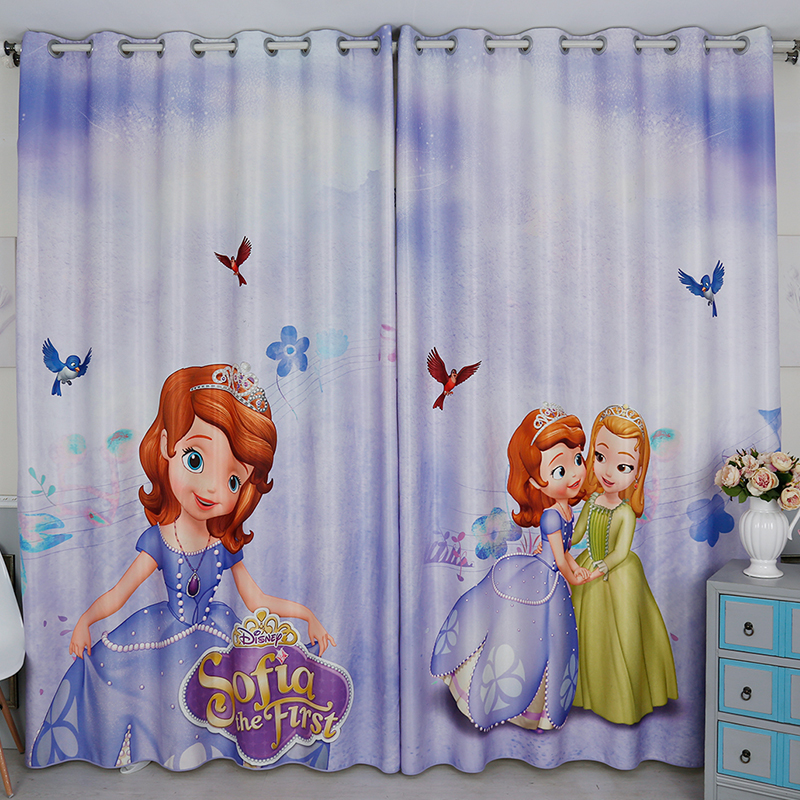 New Arrival Girls Bedroom Window Curtain Cartoon. Online Get Cheap Purple Curtains for Girls Room  Aliexpress com