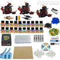 ITATOO Pens Tattoo Kit Cheap Tattoo Machine Set Kit Tattooing Ink Machine Gun Supplies For Jewelry Weapon Professional TK100011