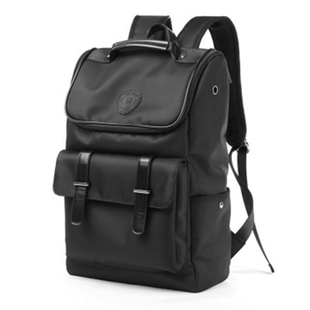 Laptop Business Travel Backpack Men Waterproof Black Korean Style Backpack Vintage Student Mochilas Hombre Male Backpack 50SJ014