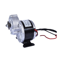 1PC Hot 250w 24v gear motor ,brush motor electric tricycle ,DC gear brushed motor,Electric bicycle motor, MY1016Z2