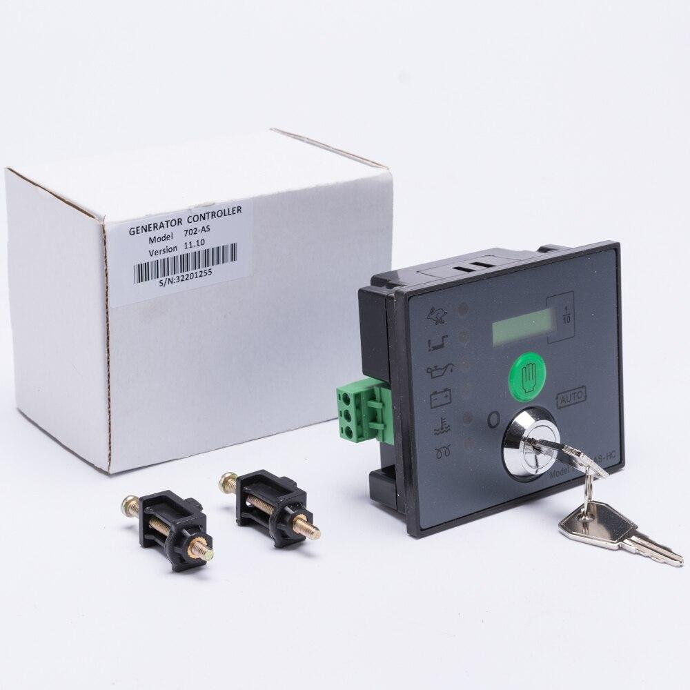 Auto starten dse Generator Controller 702 Key Start Modul diesel pinsel bürstenlose aggregat elektronische control board hersteller