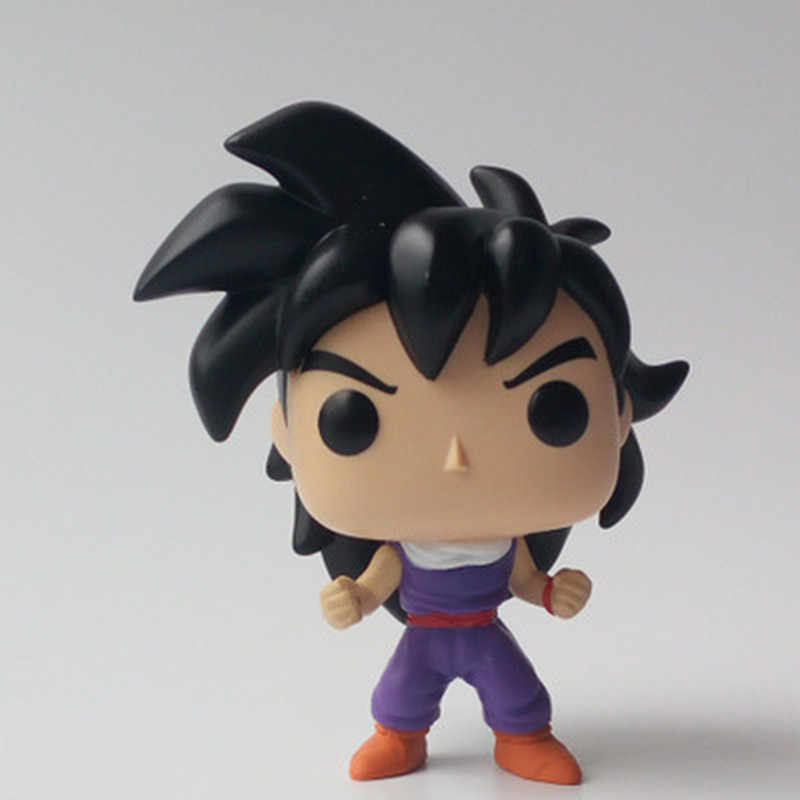 Amina Dragon Ball GOKU (ULTRA INSTINTO) Vinyl Action Figure Collectible Modelo Brinquedos para crianças presente de aniversário