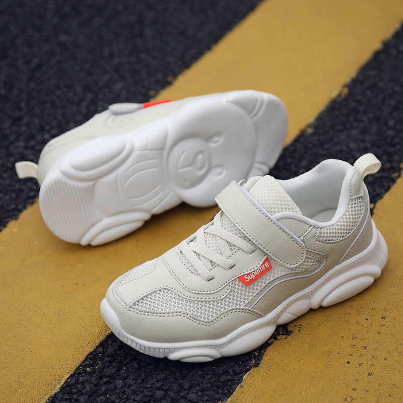 Купить с кэшбэком Children Shoes 2019 New Brand Outdoor Sports Shoes for Kid Newest Design Indoor Anti-slip Sneakers Boys Girls Casual Shoes 1888