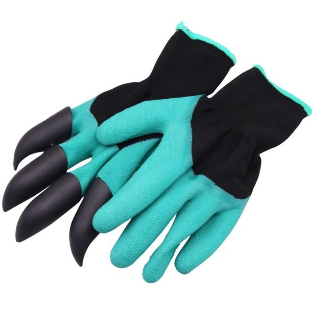 1 pairs Bee Tool Beekeeper Gloves Beekeeping Tools Protective Clothing Accessories Right Hand With Plastic Shovel Not Hurt Hand 3