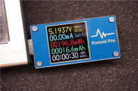 Kotomi Pro High Precision Color USB Current Voltage Meter Capacity Coulometers PD QC Trigger Line Resistance