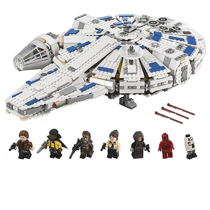 DIY Star Wars Building Blocks Falcon Model Force Awakens Millennium compatible Legoing 75212 Toys For children Christmas Gifts star wars 10373 force awakens tie advanced prototype building blocks toys for children gifts block compatible legoingly 75082