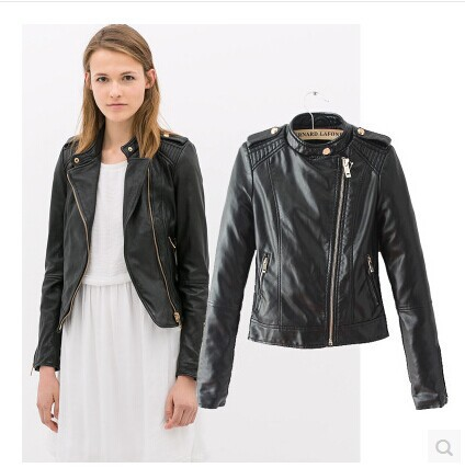Aliexpress.com : Buy 2015 Women&39s Fashion Motorcycle PU Leather