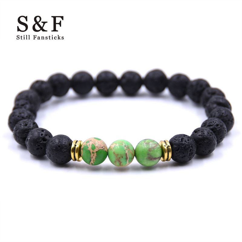 Buddha Bracelet Men Jewelry Stone Bracelets For Women Pulseira Masculina Feminina Bileklik Pulseras Mujer Bijoux Bead Armband