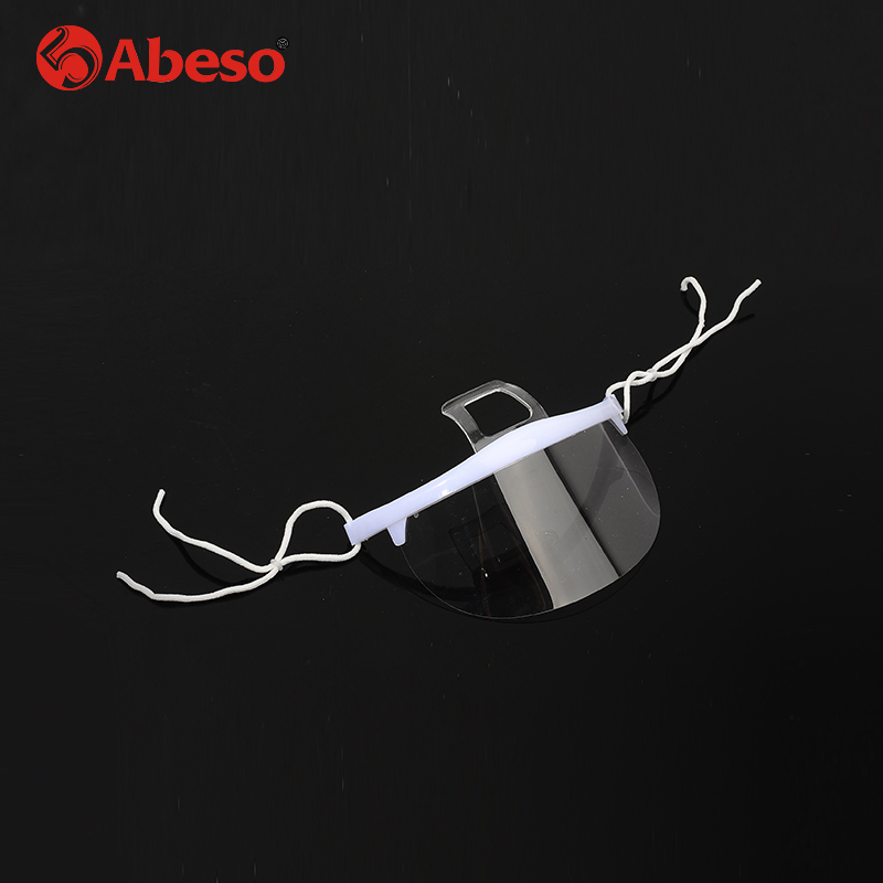 Inventive Abeso 10pcs/set Plastic Reusable Hygiene Sanitary Mask Transparent Permanent Long Effect Anti-fog Anti-bacteria Dust-proof A7331 Cheap Sales Safety Goggles
