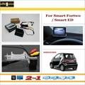 """Traseira do carro Da Câmera + 4.3 """"TFT LCD Monitor de Tela = 2 em 1 Sistema de Back Up de Estacionamento-Para Smart Fortwo/Smart ED"""