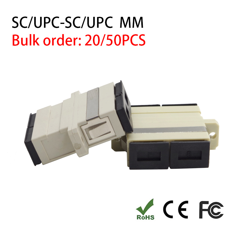 SC to SC Multimode Duplex Coupler Fiber Optic Adapter Connector Fiber Couplers