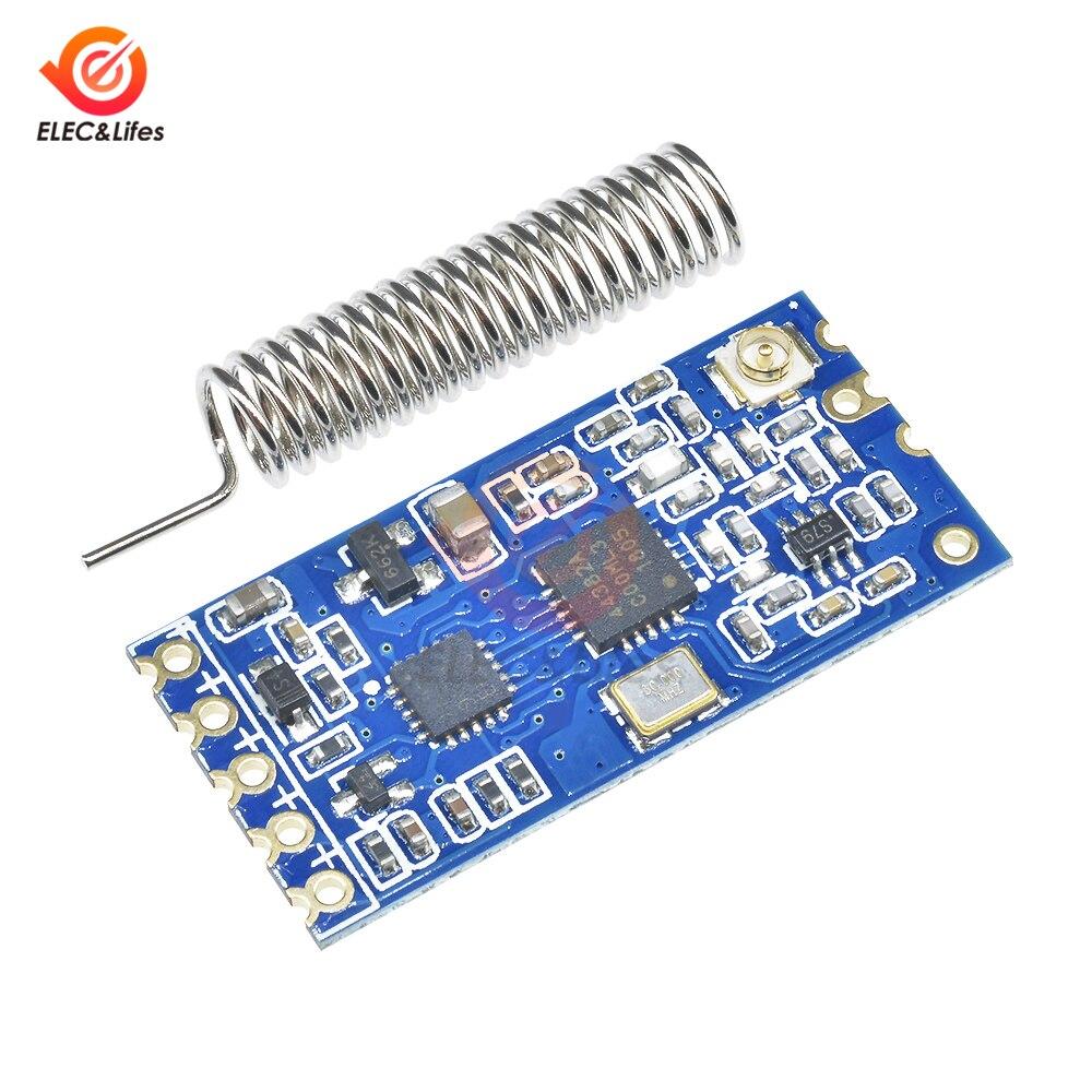 433Mhz HC-12 SI4463 Wireless Remote Serial Port Modul 1000m für Arduino Roboter Ersetzen Bluetooth HC12