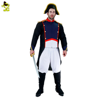 2017 Adults Man Napoleon Cosplay Costume Halloween Costume Men For Party Role Play Show